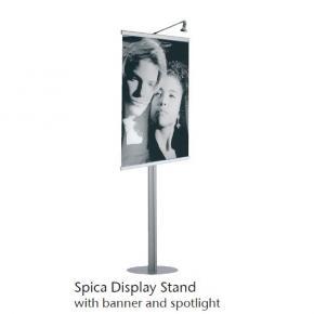 Ständer Spica mit Banner