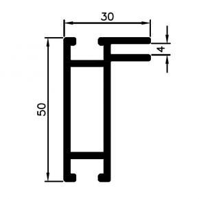 Bannerprofil SF-44-1