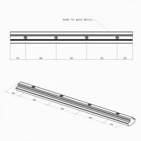 Verbinder, m-i50-4x5-200