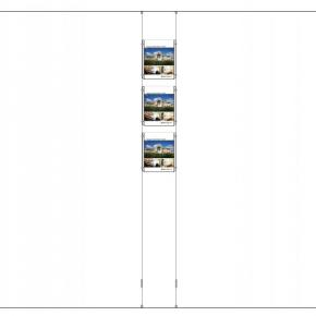 Wire Display, 3xA4