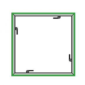 EL-1 Rahmen, 1000x1000mm - 4-F