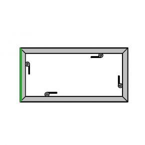 EL-1 Rahmen, 1000x500mm - 1K -H