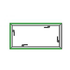 EL-1 Rahmen, 1000x500mm - 3L -H