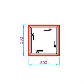 EL-2 Rahmen, 500x500mm - 4-Q