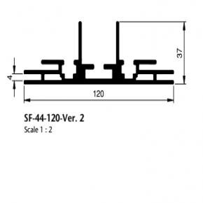 Bannerprofil SF-44-120 ver. 2 LED