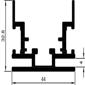 Bannerprofil SF-44-10