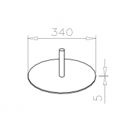 Fußplatte, WSF-44
