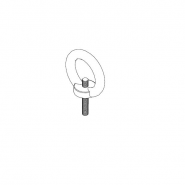 Ringbolzen 6x45 mm, 1231-3