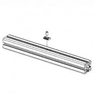 Längenverbinder, RC40-4-26-350